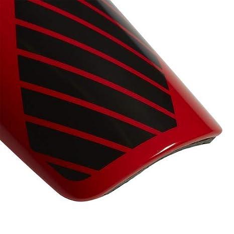 adidas x Lesto Shinguard Active Red//Black//Off White
