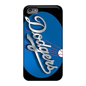 Durable Hard Cell-phone Cases For Apple Iphone 6 With Custom High-definition Los Angeles Dodgers Pattern Hardcase88