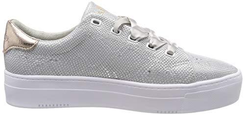 5 949 S 23632 949 Struct 22 Sneakers 5 silver Basses oliver Femme Argenté RZEqZ7