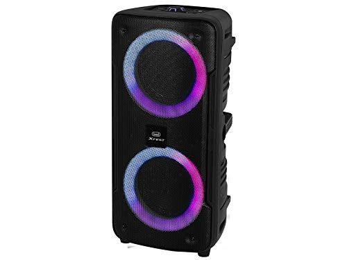 Trevi Xfest XF 440 KB draagbare versterker Moving Discolight, MP3, USB, SD, Bluetooth, TWS-functie, geïntegreerde accu…