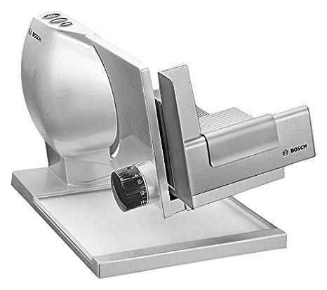Bosch MASM Eléctrico W Metal Metálico Plata rebanadora Cortafiambres Metal Metálico Plata