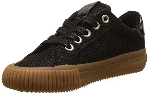 victoria Mädchen Deportivo Lurex Sneakers Schwarz (Negro)