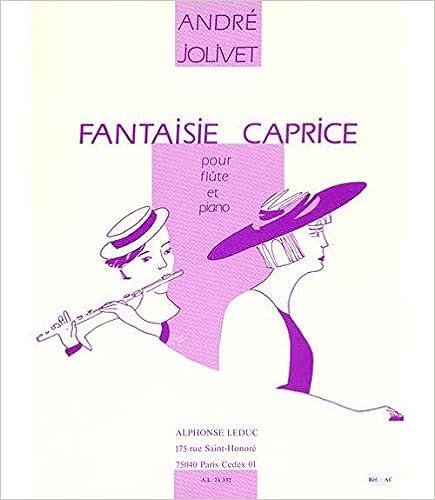 En ligne téléchargement gratuit FANTAISIE CAPRICE FLUTE ET PIANO pdf ebook