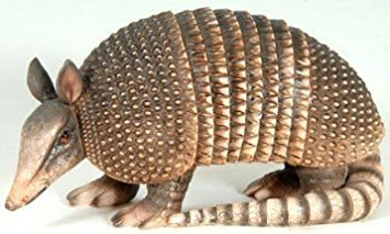 Decorative Armadillo Inside Outside Garden Statue (Animal Outdoor Statues)