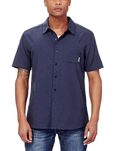 Icebreaker Merino Men's Cool-Lite Compass Short Sleeve Woven Shirt