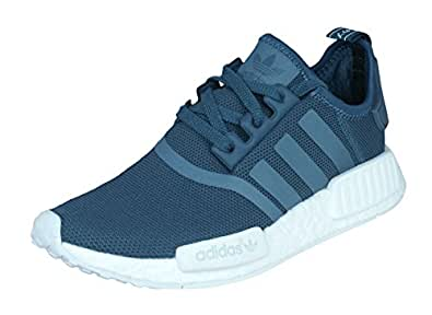 adidas NMD_R1 Womens Running Trainers/Shoes - Blue-5