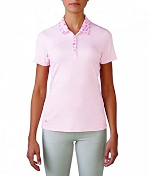 adidas Advance Bonded Malla Polo para Mujer Rosa: Amazon.es ...