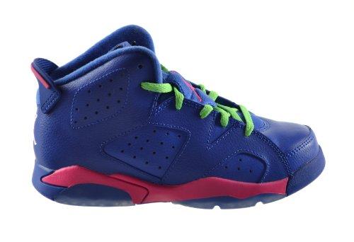 Jordan 6 Retro  Little Kids Basketball Shoes Gym Royal/White