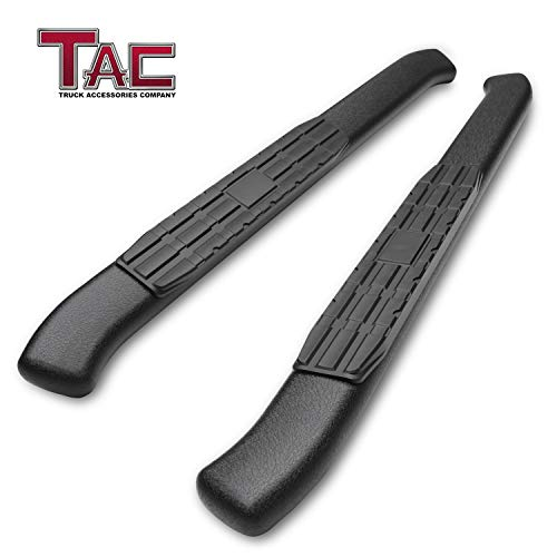 TAC Side Step Fit 2009-2018 Dodge Ram 1500/2010-2019 Dodge Ram 2500/3500 Regular Cab Pickup Truck 4.25