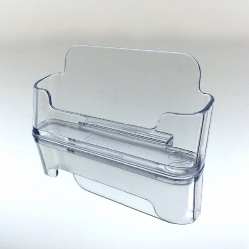 - Beauticom (Style BCH # 1) Acrylic Clear Plastic Business Card Holder Display Desktop Countertop Stand (100 Pieces)