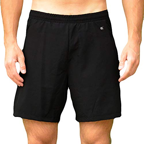 Colosseum Mens Stretch Woven 7 Inch Shorts Black - M ()