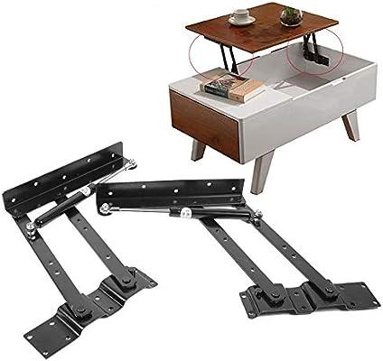 Bisagras hidráulicas para muebles-2x Práctico elevador Mecanismo ...