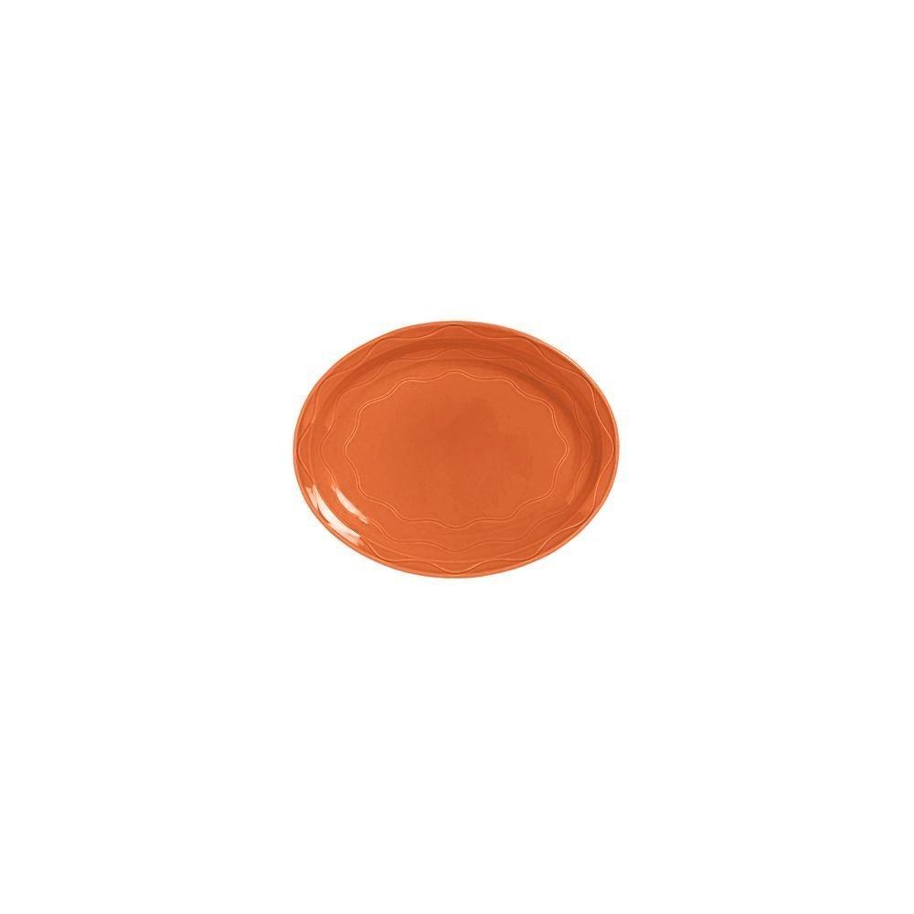 Syracuse China 903034008 Cantina Cayenne 11.63'' Platter - 12 / CS