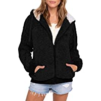Pongfunsy Fashion Plus Size Casual Pocket Hooded Parka Women's Hoodie