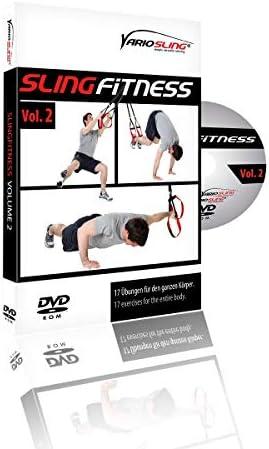 Variosling® Paquete/Set/Kit de DVDs de Ejercicios para Entrenamientos en Suspensión/Sling-Trainer – vídeo | Slingfitness Vol. 1-4 – más Que 60 ...
