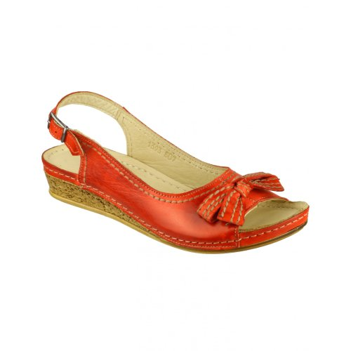 Churn Shoes (Cotswold Churn Ladies Summer Shoe (5 US) (RED))