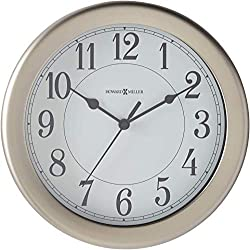 Howard Miller Aries Wall Clock 625-283 - Modern & Round with Quartz Movement
