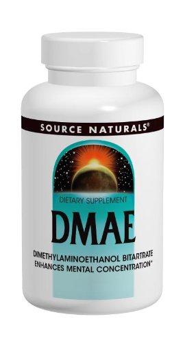 Source Naturals DMAE Capsules, 100 Capsules