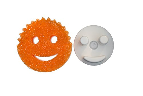 The Sponge Caddy with Suction Base for Kitchen Sink, White - Does NOT Include Sponge. This product is not affiliated with or licensed by Scrub Daddy, Inc.