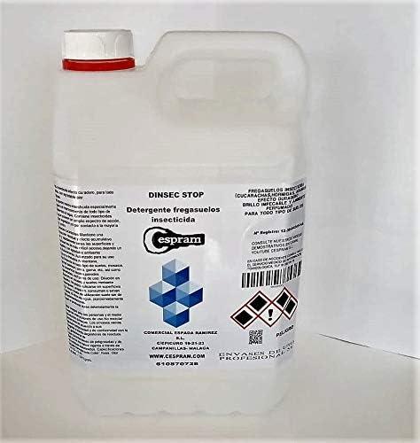 CESPRAM, Insecticida fregasuelos preventivo.Fregasuelos perfumado.Aroma floral.Repelente cucarachas,hormigas e insectos rastreros.DISEC STOP CDI.Envases de 1 y 5 l. (5)