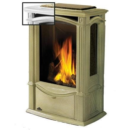 Napoleon Gds26 Castlemore Cast Iron Natural Gas Stove - Winter Frost by Napoleon