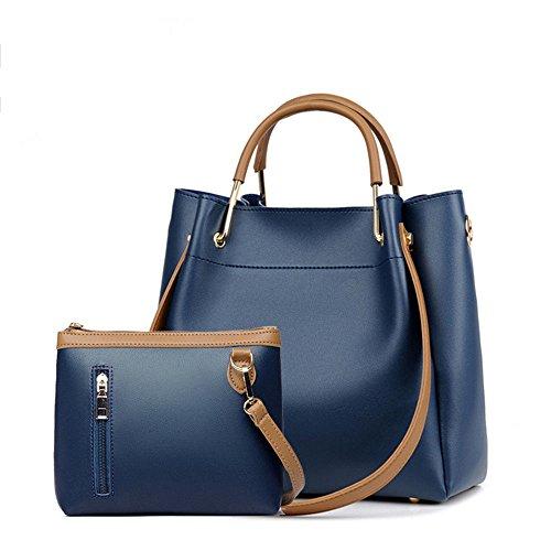 Sac Femme, Sac À Main, Sac Bandouliere, Sac D'Épaule, Sac Seau. Petit sac bleu