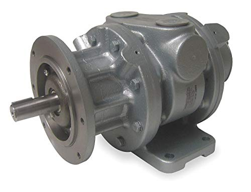 Motor Rotary Vane (9 C Face Mounted Air Motor with 7/8' Shaft Dia. and 1-1/4' NPT Port Size)