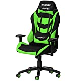 Gaming Chairs Best Deals - Merax Racing Style Office Chair Gaming Ergonomic with Adjustable Armrests Home Office Computer Chair (Green)
