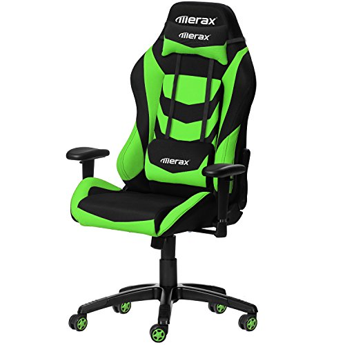 Merax Racing Style Office Chair Gaming Ergonomic with Adjustable