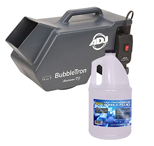 Chauvet Bubble King - American DJ Bubble Tron Bubbletron High Output Bubble Machine w/ Remote + Fluid