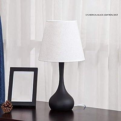 ZZXXMM Lámpara de Mesa Lámpara de Mesa Regulable de Toque