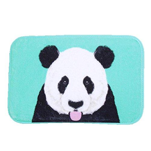 Marvelous Ularmo Bathmat 40cm*60cm Mat Carpet Outdoor Indoor Antiskid Decor Doormat  Non Slip Mat Blue Panda