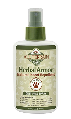 All Terrain Pet Products, 4 Ounce, Protect Your Outdoor, Active Pets From Bug Bites, Itching Skin, and Paws, or Dry Paw Pads with All Terrain Natural Based Pet Care Products