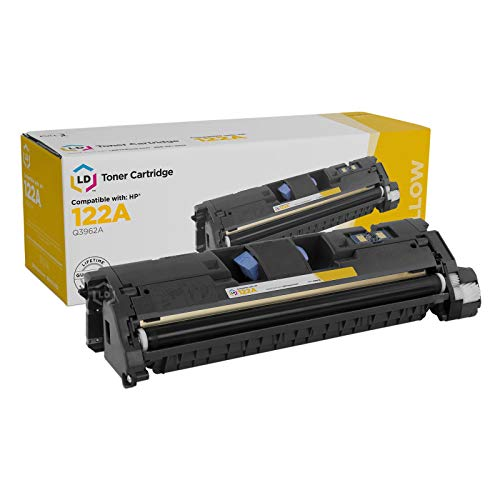LD Remanufactured Toner Cartridge Replacement for HP 122A Q3962A (Yellow)