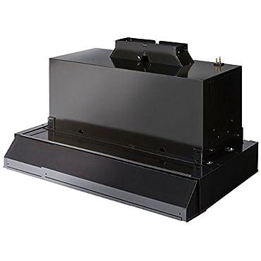 Broan 103023 Custom Hood Kit for 30 and 42 Wood Cabinetry, 360 CFM, Black