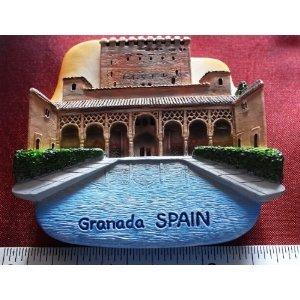 Alhambra Granada España Ciudadela imanes recuerdos Tailandia ...