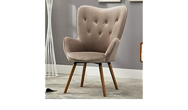 Amazon.com: Hebel Doarnin Contemporary Velvet Tufted Button Back Accent Chair | Model CCNTCHR - 36 |: Kitchen & Dining