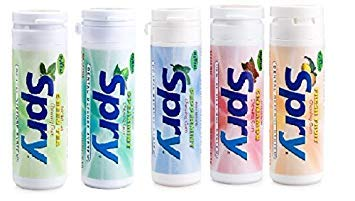 (Spry Xylitol Gum, 5 Flavor Variety Pack, 30 Count Each - Great Tasting Natural Chewing Gum That is Aspartame Free, Promotes Oral Health, and Fights Bad Breath)