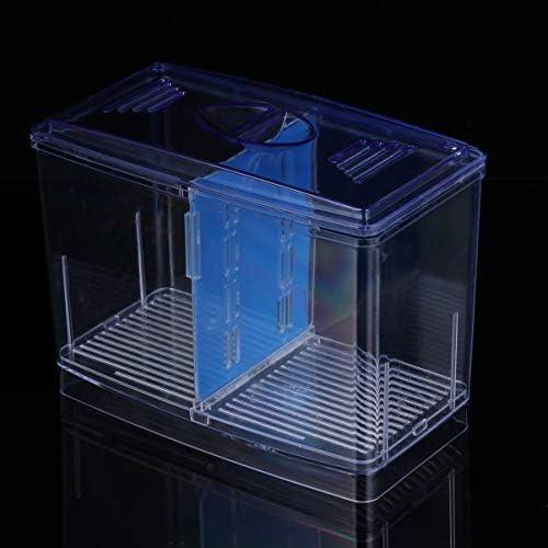 POPETPOP Caja de Cría de Peces de Acuario Incubación de Peces Caseros 6