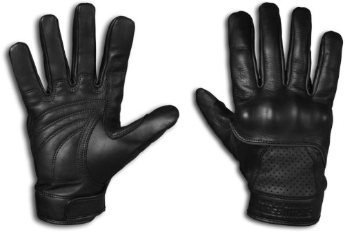 StrongSuit 20300-XXL Voyager Leather Motorcycle Gloves, 2X-Large