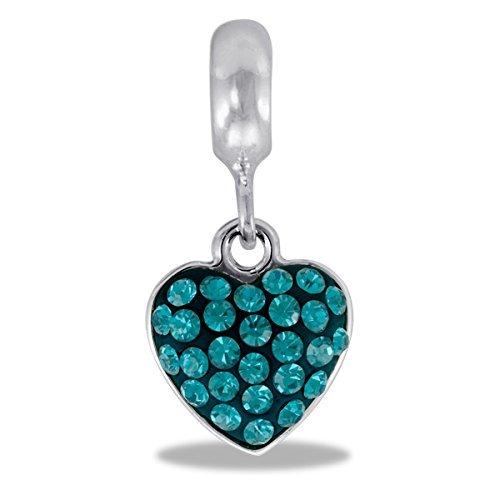 - DaVinci Bead December Heart - Jewelry Bracelet Memories Beads DB46-6-DAV by Center Court