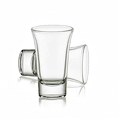 Heavy Base Shot glasses?Whiskey Shot Glass, 2.3 oz Set of 6