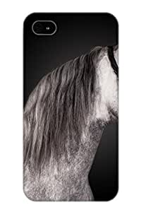 High Quality Shock Absorbing Case For Iphone 4/4s-Animal Horse
