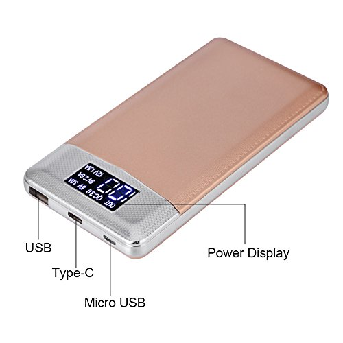 Hanbaili 30000mAh portable quick price 30 USB Type C Micro USB electricity Bank External Battery for iPhone Samsung Android External Battery Packs