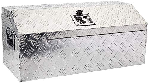 Brait BR302 Aluminum Tool Box for ATV Storage Truck Pickup RV, 30' L, Silver