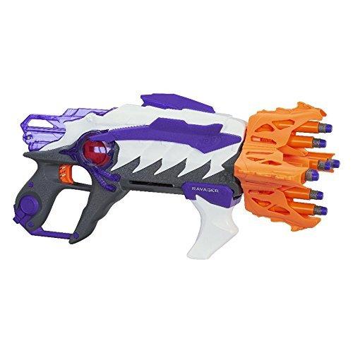 NERF Alien Menace Ravager Blaster [並行輸入品] B07JB4L7ZV