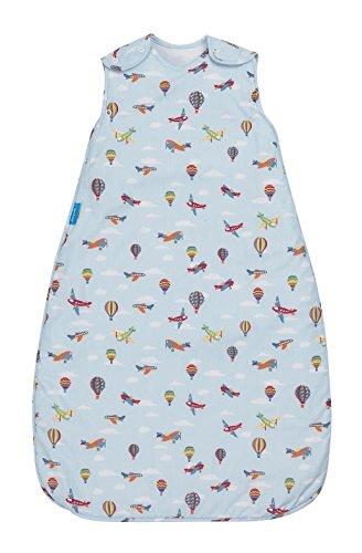 T Grobag Air Show (Jersey) Fabric Baby Sleeping bag For Silky Smooth Comfort 2. 5 Tog (0-6 months) (Blanket Tug Swaddling)