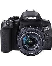 Canon EOS 850D EF-S 18-55mm F4-5.6 IS STM zwart