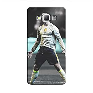Cover It Up - Cristiano Green Monochrome Galaxy A3 Hard Case