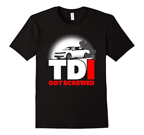 Men's TDI Got Screwed! Medium Black